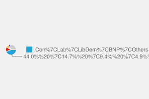 2010 General Election result in Castle Point